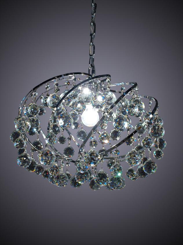 hanglamp crystal balls hanglamp crystal balls hanglamp met 30 % asfour ...