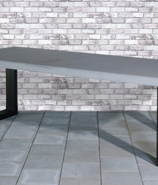Eettafel met beton-blad