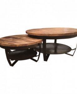 Paras salontafels zwart