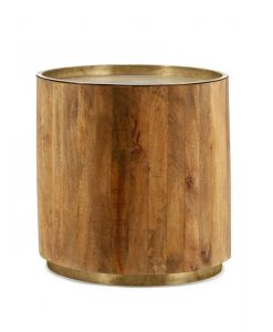 Tub Sidetable dark