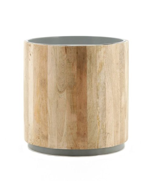 Tub Sidetable light-grey