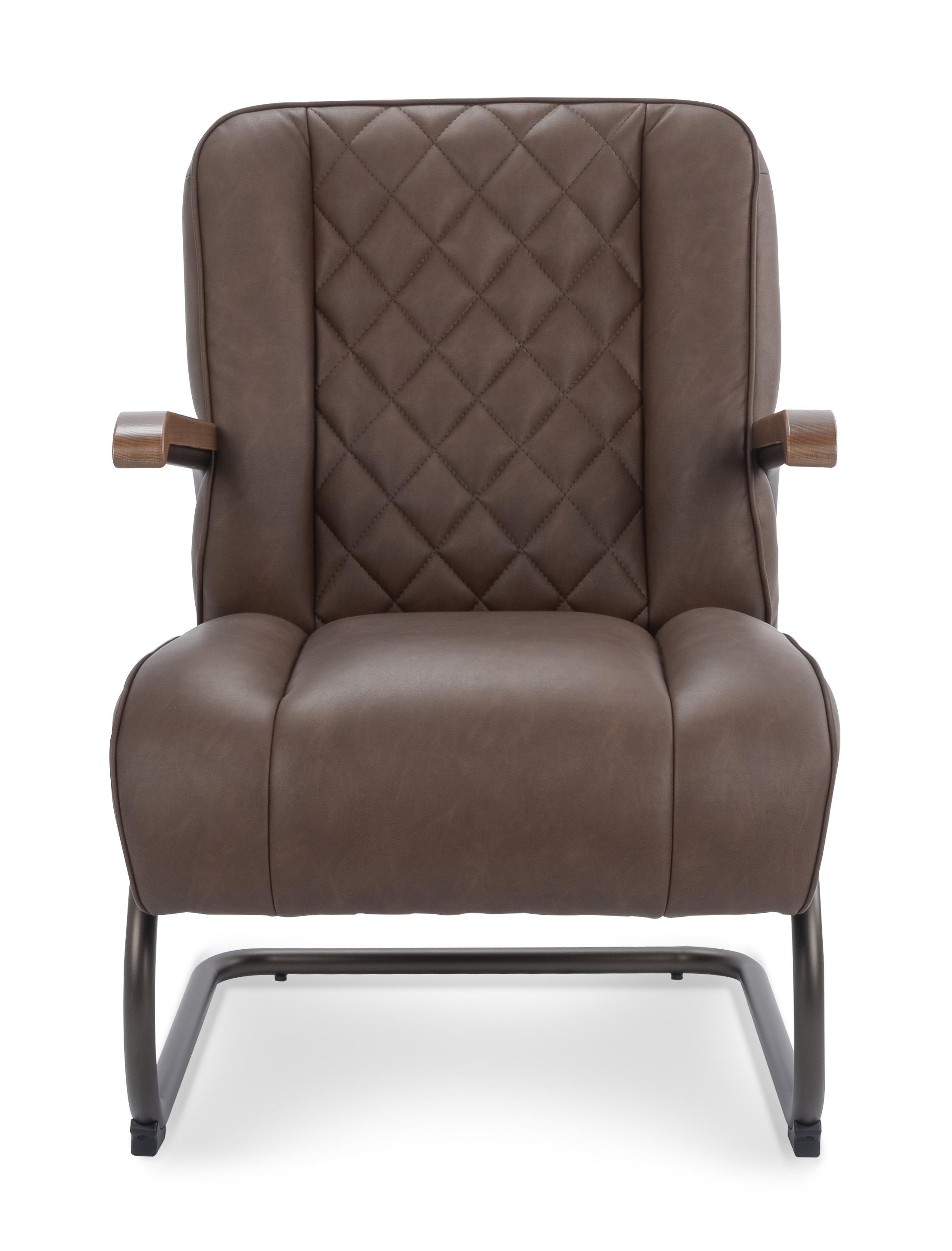 Bentley new lederlook vintage dark brown front