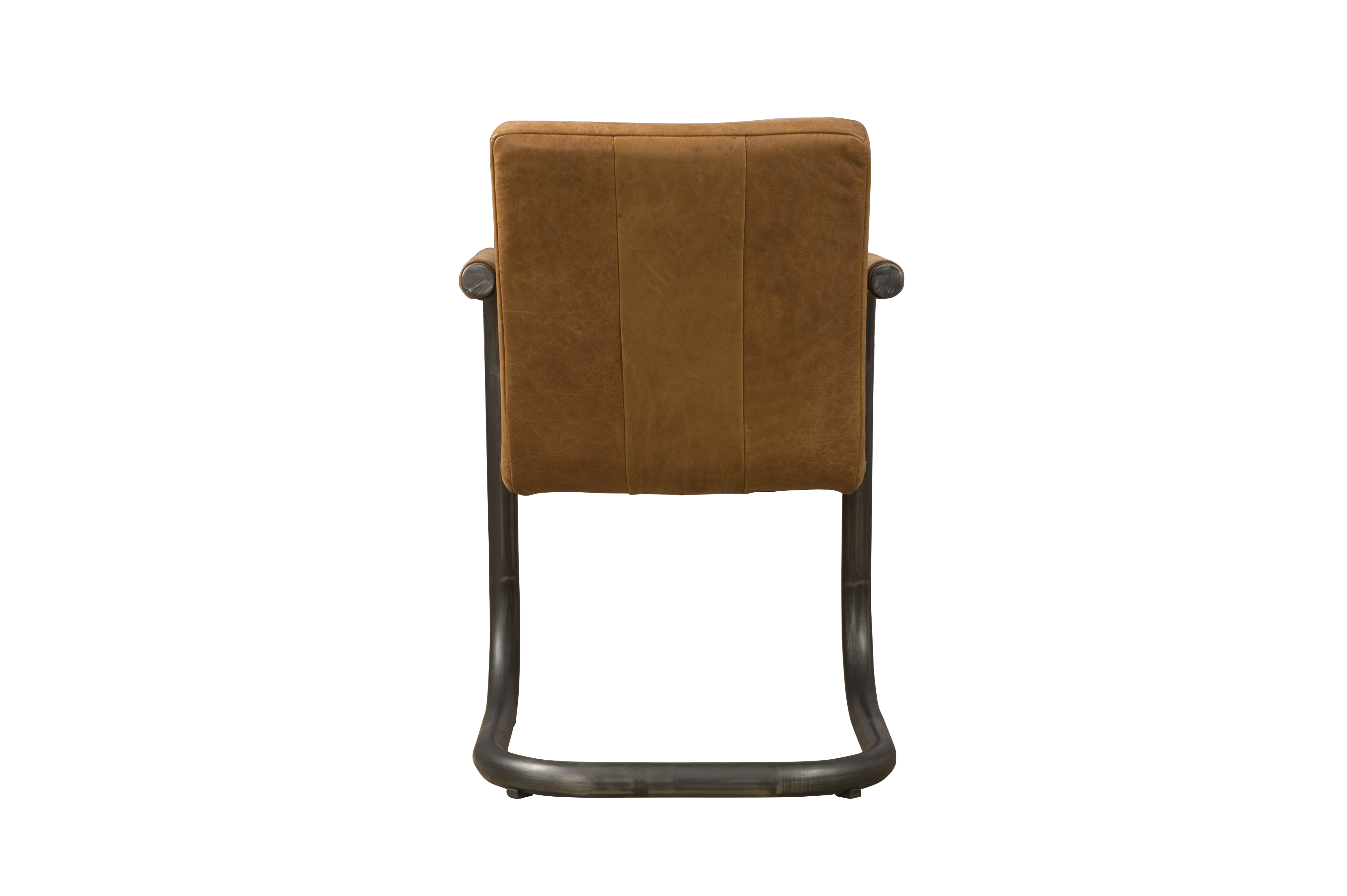 LM 0040 - Lasso armchair - leather rust (A)