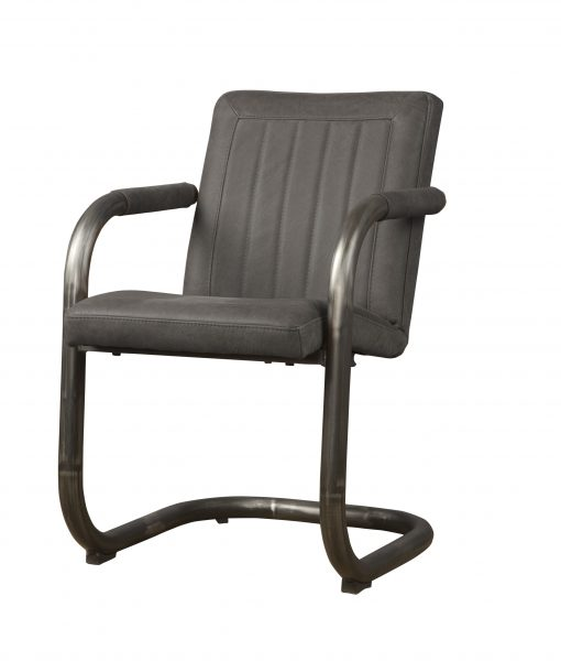 LM 0041 - Lasso armchair - leather stone (V)