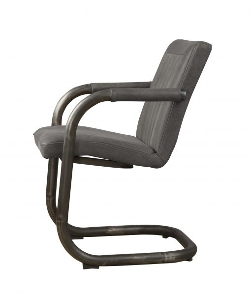 LM 0041 - Lasso armchair - leather stone (Z)
