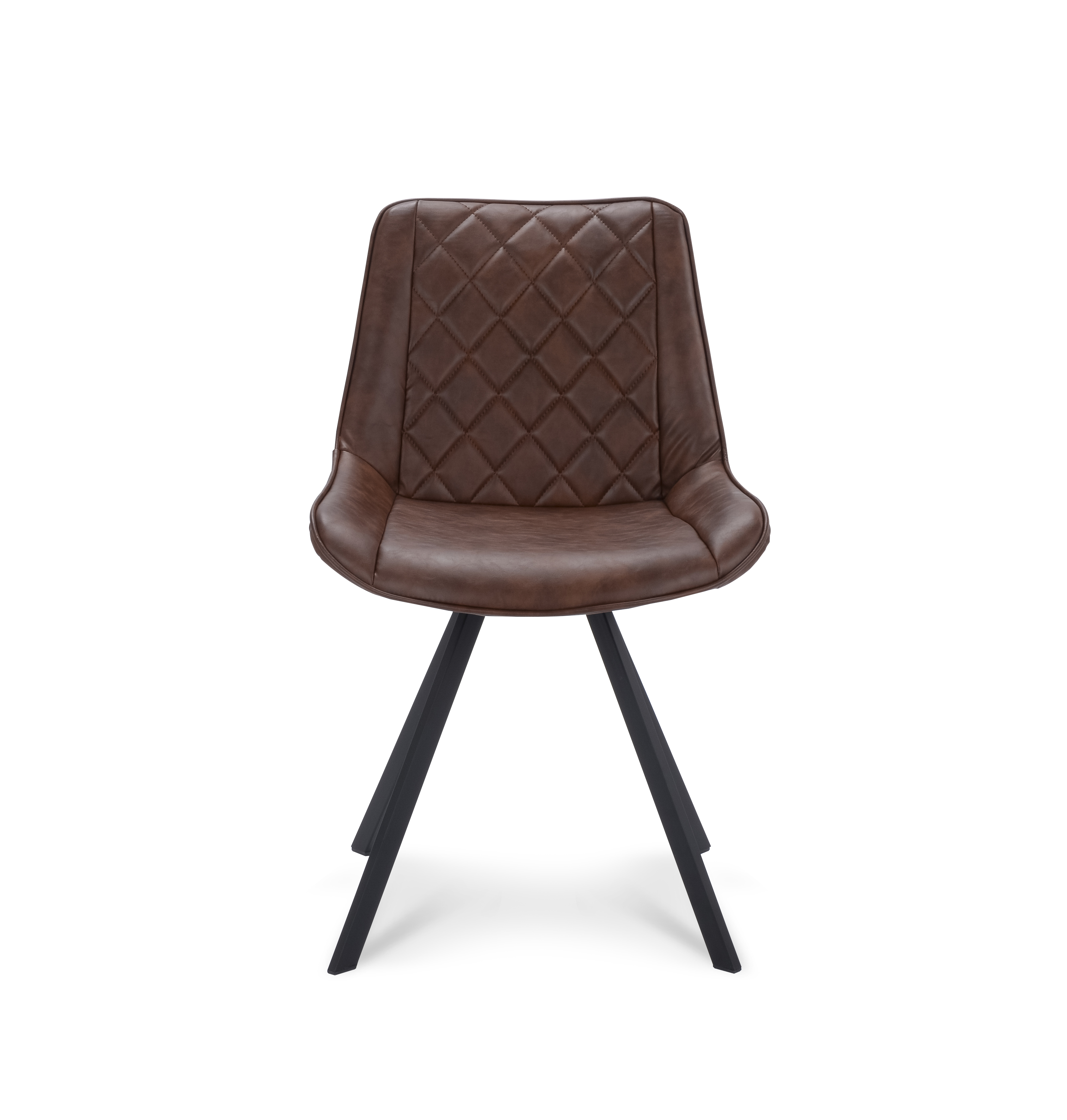 Rapide stoel front brown