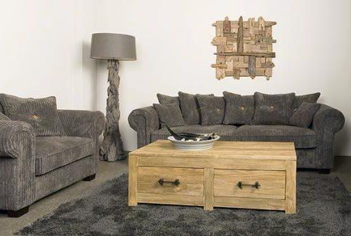 UrbanSofa Fabio vintage sofa en loveseat