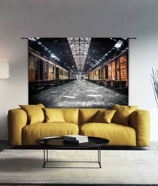 Urban Cotton wandkleed Depot