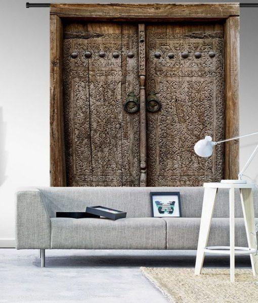 Urban Cotton Wandkleed Old Doors