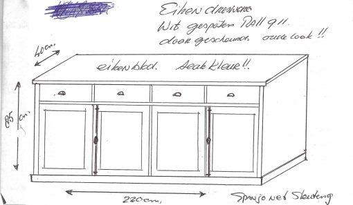dressoir maatwerk