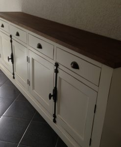 maatwerk dressoir wit
