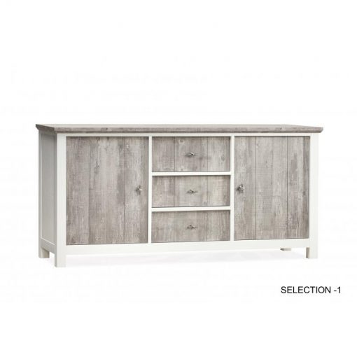 Selection dressoir 2 deurs/3 laden