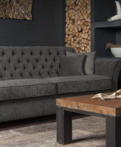 urbansofa calmont gecapitonneerde 3-zits sofa
