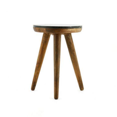 Trident table 40cm black