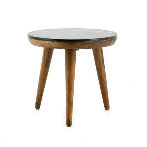 Trident table 50cm black