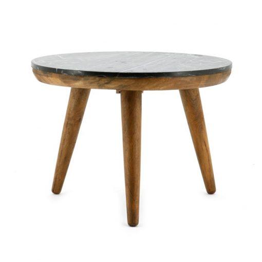 Trident table 60cm black