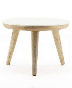 Trident table 60cm white