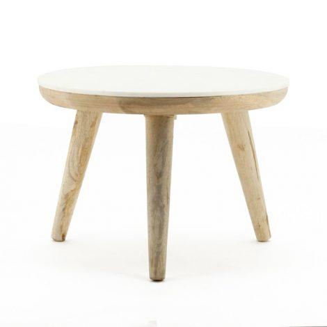 Trident table 60cm white
