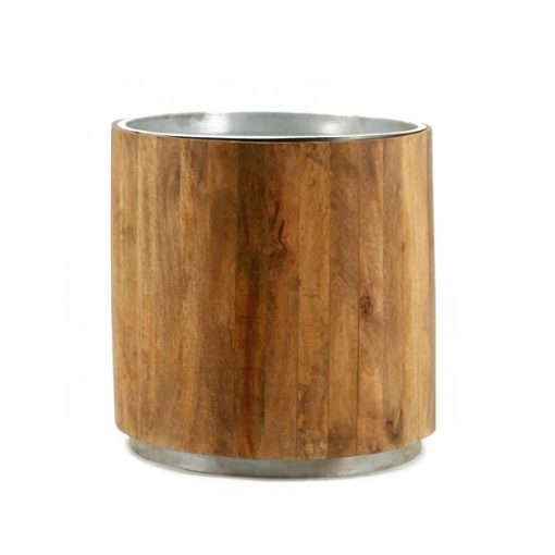 Tub Sidetable dark-metal