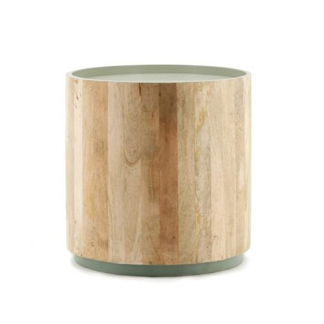 Tub Sidetable light-green