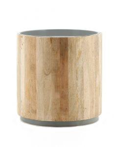 Tub Sidetable light-grey