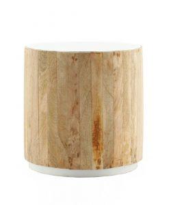 Tub Sidetable light-white