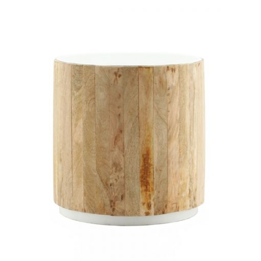 Tub Sidetable light-white
