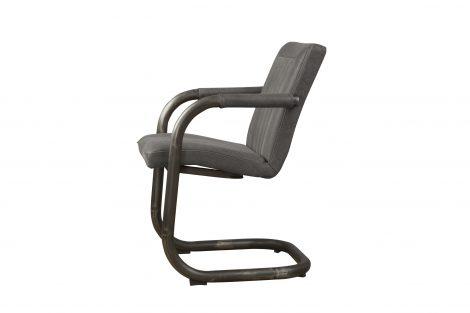 LM 0041 - Lasso armchair - leather stone (Z)
