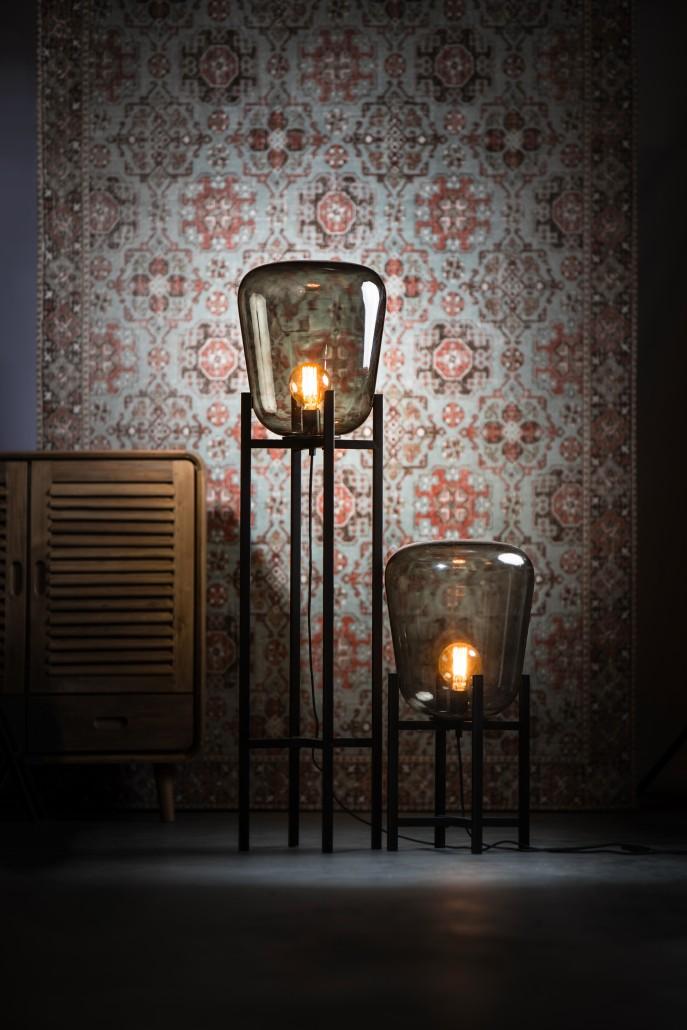 Benn tafellamp en Vloerlamp