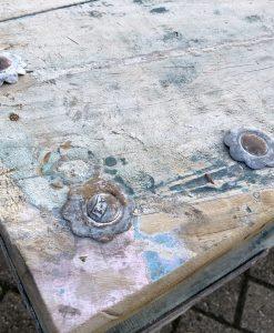 Oude India salontafel