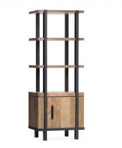 Binck wandkast 1drs 3x open vak 3D