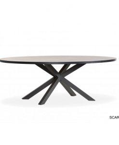 Scarlet lamulux tafel Ovaal