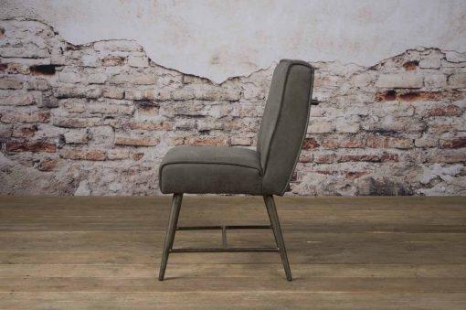 NC 0130 - Belmonte sidechair - Cherokee 1 grey (z)