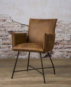 NC 0162 - Trofa armchair - Amazon 9 cognac (v)