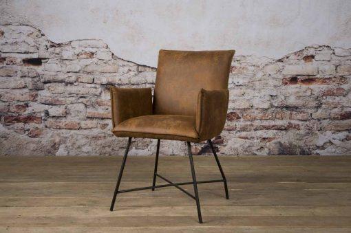 NC 0162 - Trofa armchair - Amazon 9 cognac (v)