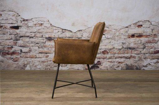 NC 0162 - Trofa armchair - Amazon 9 cognac (z)