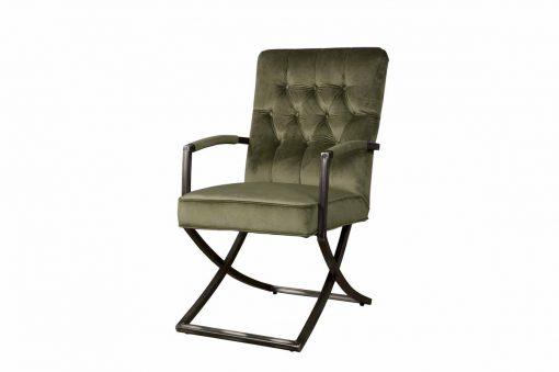 TX 0036 - Luton armchair oud groen 504 (v)
