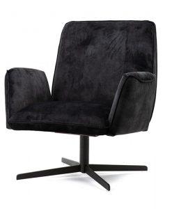 fauteuil antraciet adore vivian