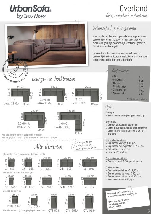 UrbanSofa-Overland-Sofa produkt folder 2